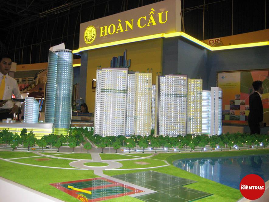 【Sabankientruc.com】Mô hình kiến trúc dự án quy hoạch Diamond City