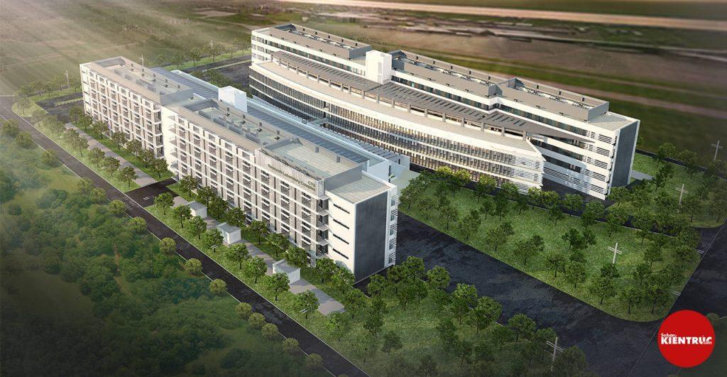 【Sabankientruc.com】Mô hình kiến trúc dự án quy hoạch Đại Học Cần THơ