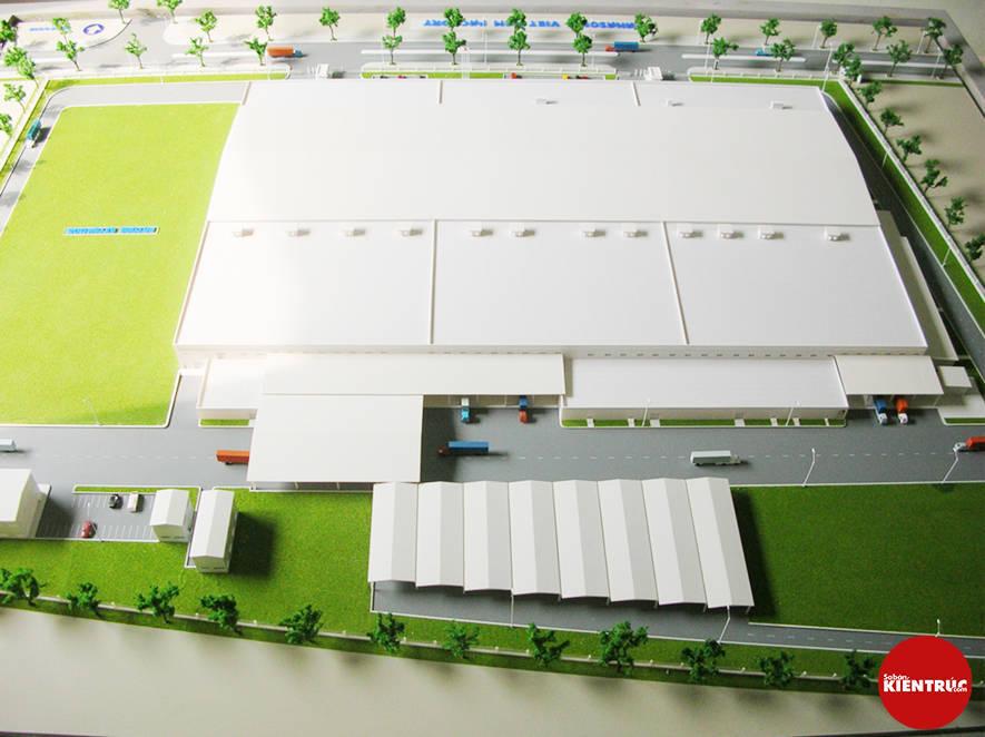 【Sabankientruc.com】Mô hình kiến trúc nhà máy Panasonic