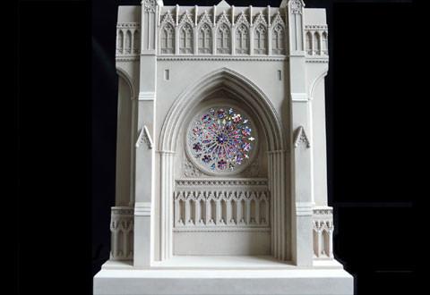Làm mô hình kiến trúc bằng thạch cao