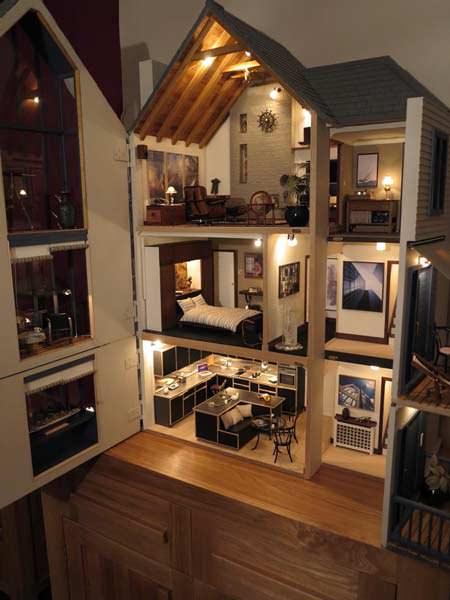 Làm mô hình trong thiết kế nội thất giúp tư duy sáng tạo.