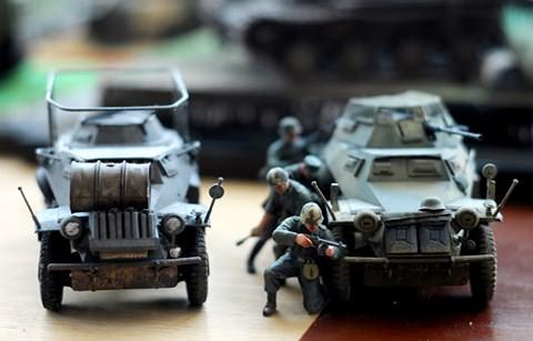 Người Hà Nội khi chơi mô hình quân sự