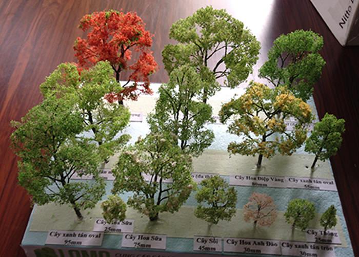 Một số cách làm mô hình cây thu nhỏ