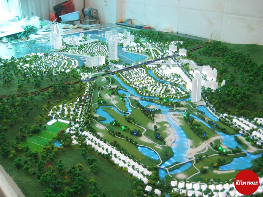 【Sabankientruc.com】Mô hình kiến trúc dự án quy hoạch Diamond Bay City