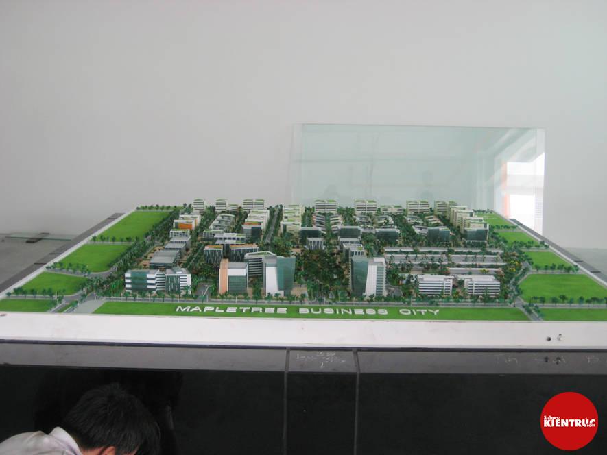 【Sabankientruc.com】Mô hình kiến trúc khu công nghệ cao Maple Tree