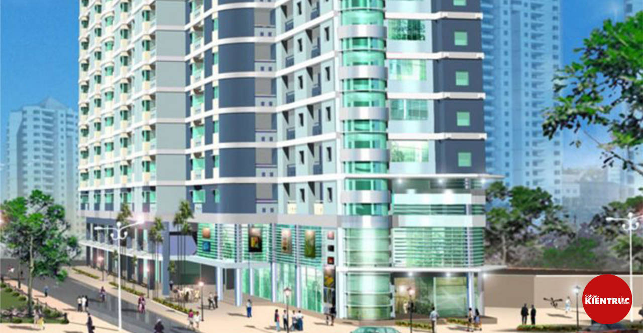 【Sabankientruc.com】Mô hình kiến trúc dự án Chung cư Khang Phúc